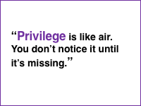 Side 11 - Privilege quote