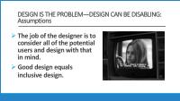 slide 8 - design is the problem