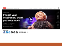 Slide 4 - screen shot from Stella Young Ted Talk