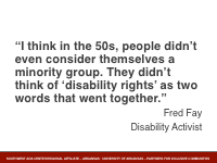 Slide 2 - Fred Fay Quote