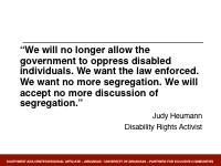 Slide 5 - Heumann Quote