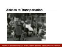 Slide 6 - Access to Transportation protest