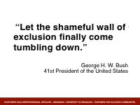 Slide 7 - Bush quote