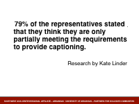 Slide 8 - Captioning Research