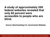 Slide 10 - web access survey