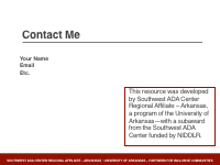 Slide 12 - Contact Me