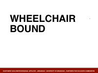 Slide 4 - Wheelchair Bound
